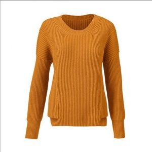 Cabi Step-Up Pullover Chunky Sweater #3537